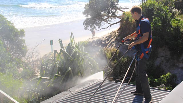 Oliver Roof Cleaning in Byron Bay